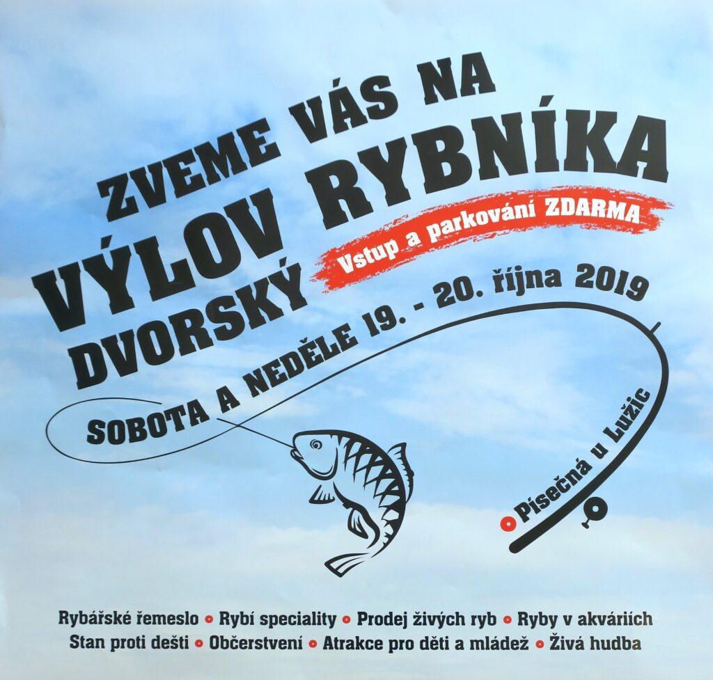 Výlov rybníka Dvorský 19.-20.10.2019